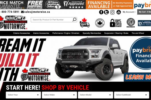 Motorwise Homepage